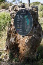 Detalles del campo, que ha sido diseñado por Arthur Hills.