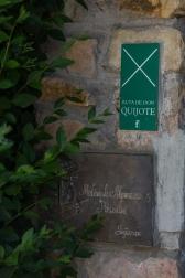El hotel forma parte de la Ruta de Don Quijote.