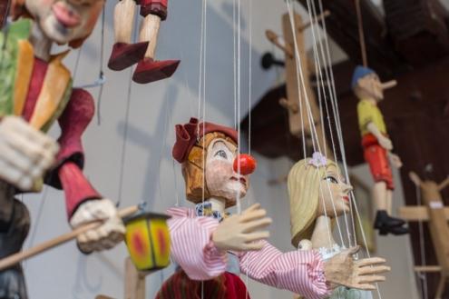 Las marionetas son un must have de Praga.