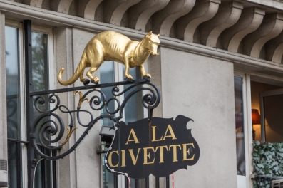 A LA CIVETTE, estanco desde el año 1716 (157 Rue St Honoré).