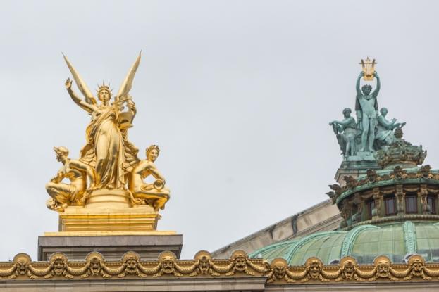 Enamorado de este encargo realizado por el emperador Napoleón III a Charles Garnier.
